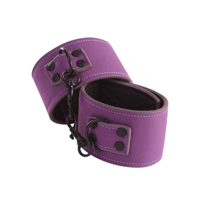 Lust Bondage - Ankle Cuff - Purple