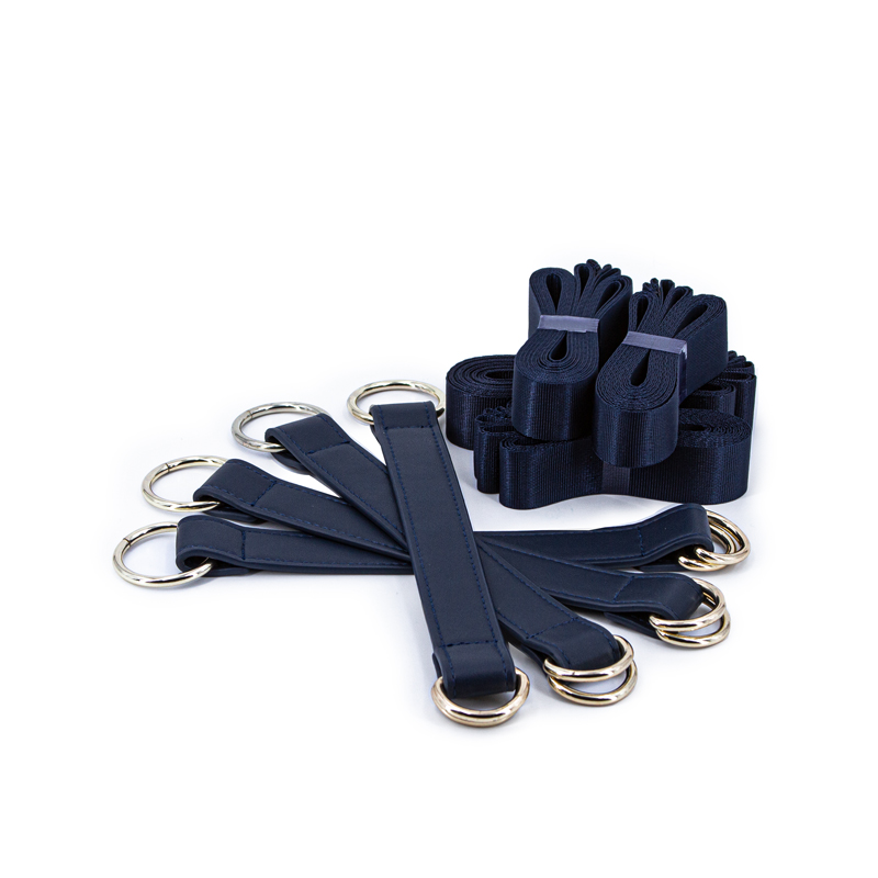 Bondage Couture - Tie Down Straps - Blue